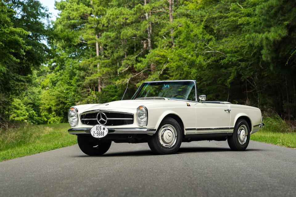 Ex-Carel Godin de Beaufort, 1963 Vaals Hillclimb,1963 Mercedes-Benz 230SL Pagoda with Hardtop   Chassis no. 113042-10-000249 Engine no. 127981-10-000285