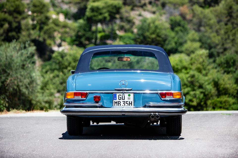 1971 Mercedes-Benz  280 SE 3.5 'Flachkühler' Cabriolet  Chassis no. 111.027-12-004473