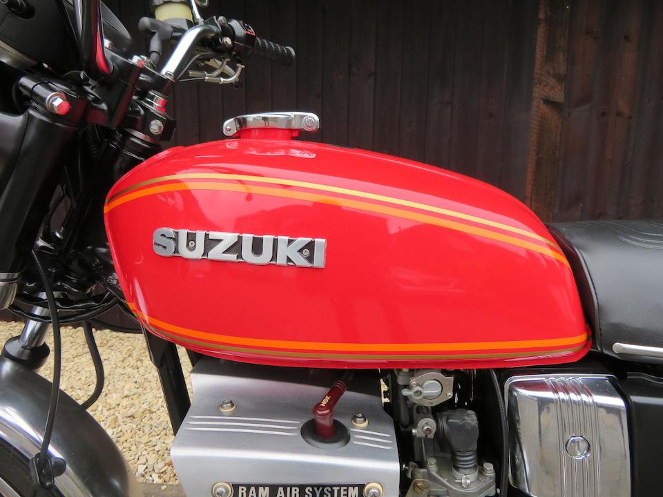 1979 Suzuki GT380 Frame no. GT380-98190 Engine no. GT380-113894