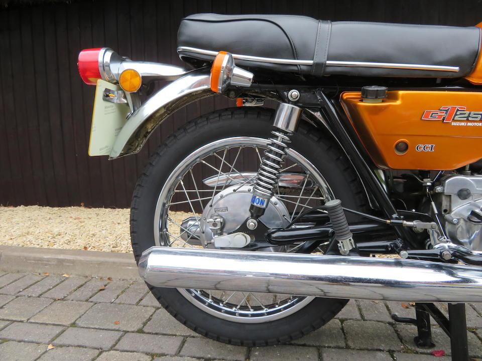 1976 Suzuki GT250A Frame no. GT250-81082 Engine no. GT250-81139