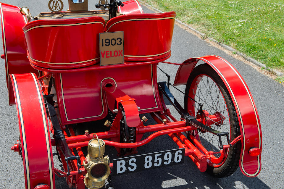 London to Brighton eligible ,1903 Miniature Velox 3.5hp Two-seater  Engine no. 1327