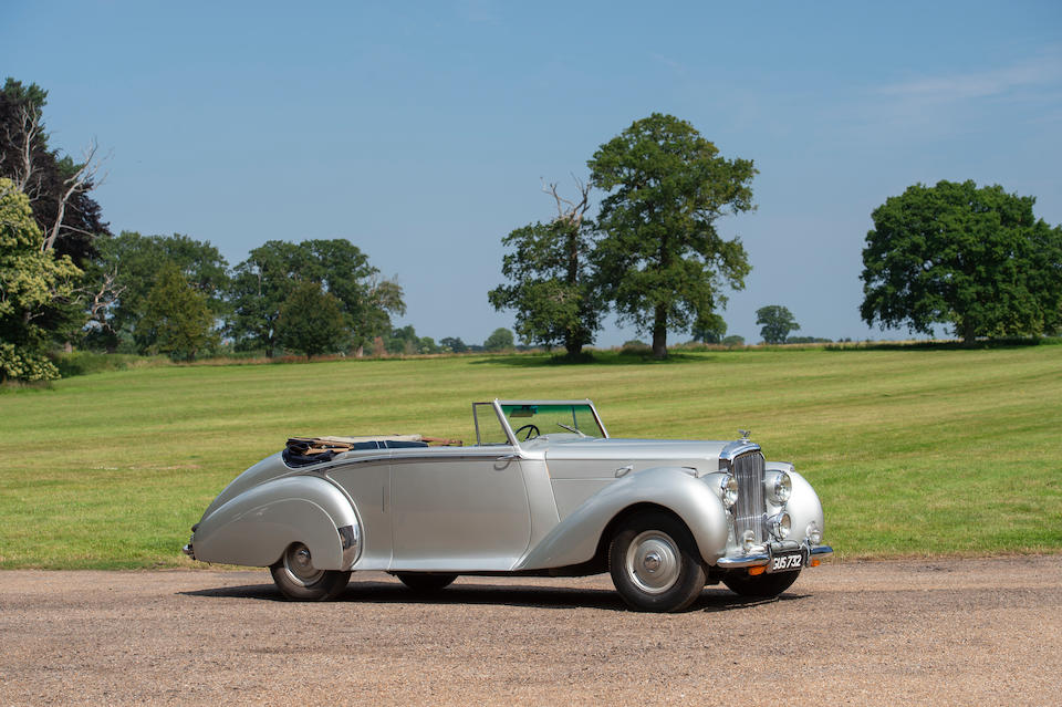 1948 Bentley Mark VI 4¼-Litre Drophead Coupé  Chassis no. B38EY