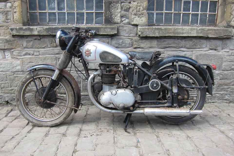 1954/1952 BSA 497cc A7 Star Twin Frame no. BA7S. 13025 Engine no. AA7S 2161