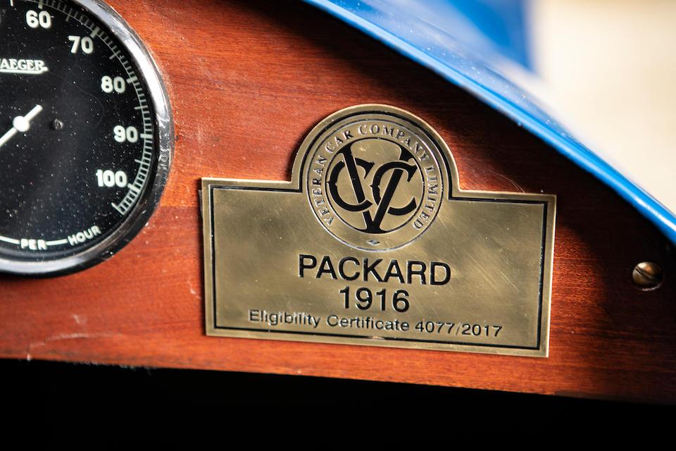 1916 Packard Twin Six Typhoon Roadster  Engine no. 83171