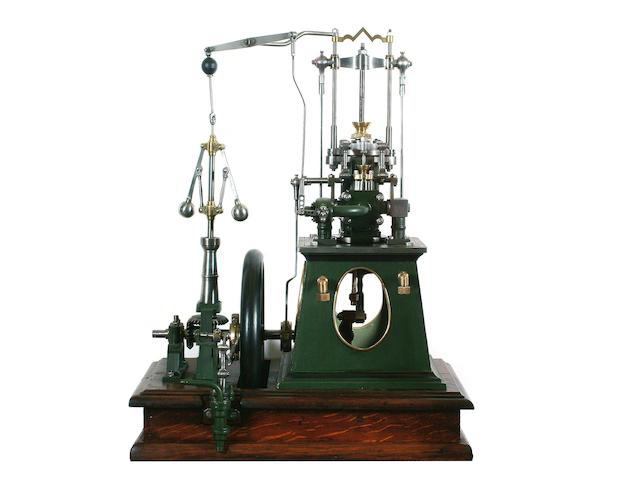 A SMALL FULL-SIZE BOX TABLE ENGINE, Ferrabee of Stroud, circa 1855,
