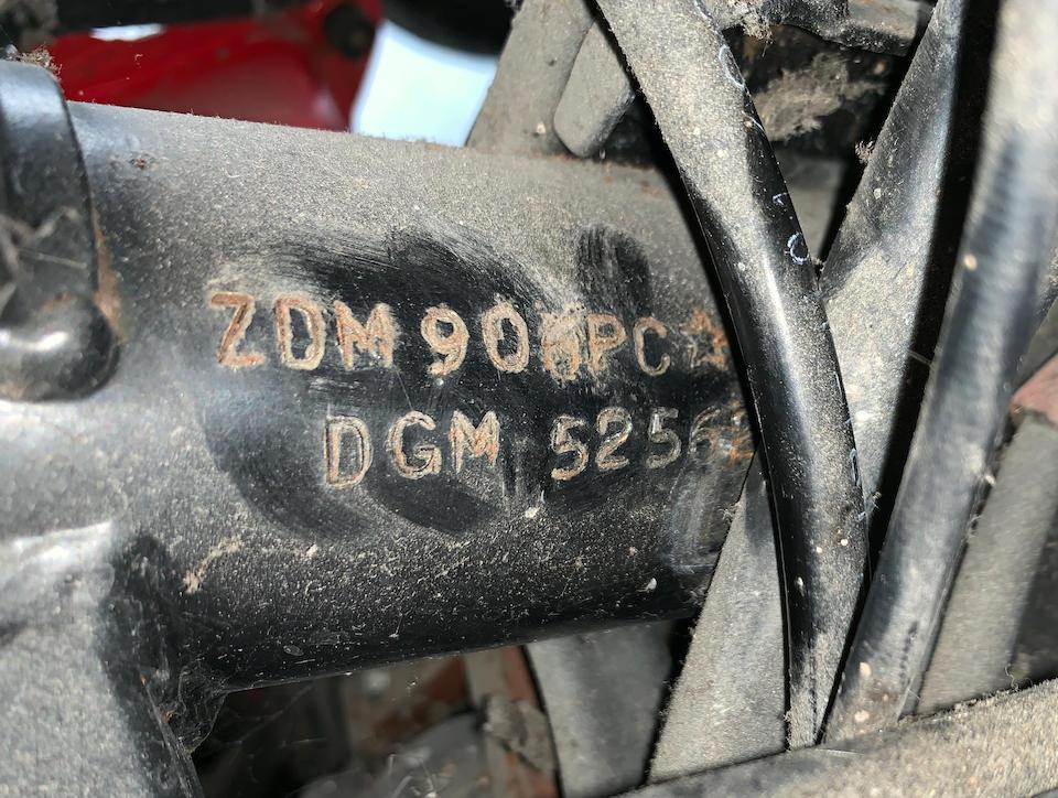 1989 Ducati Paso 906 Project Frame no. ZDM906PC 000757 Engine no. ZDM906W2C 000656