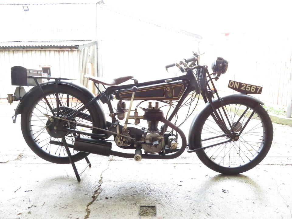 1926 Matchless 250cc Model R Frame no. 490 Engine no. R1026