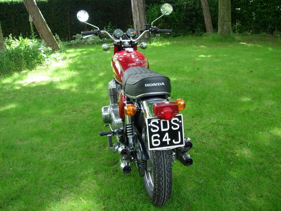 1970 Honda CB750 Frame no. CB750-1061256 Engine no. CB750E-1061798