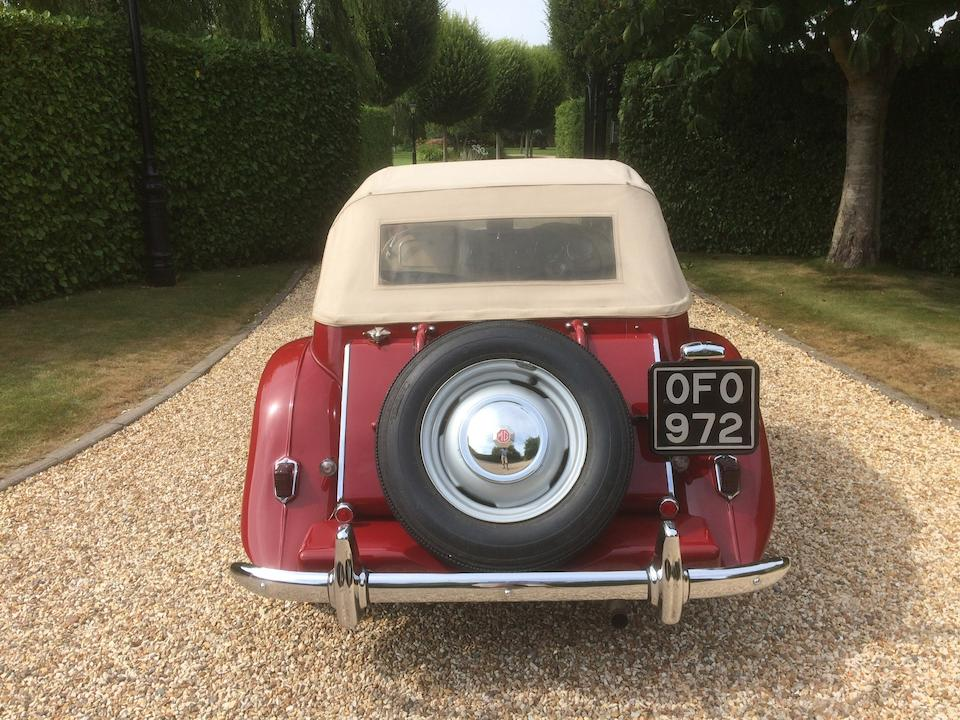 1950 MG TD Two-Seater  Chassis no. TD 0589 EXR