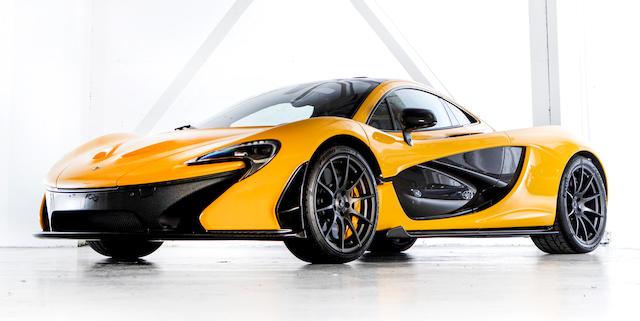 2014 McLaren P1 Coupé  Chassis no. SBM12ABB5EW000056