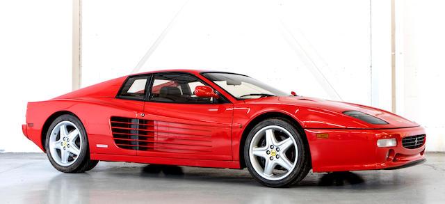 1996 Ferrari  Testarossa 512M Coupé  Chassis no. ZFFVA40B000105516