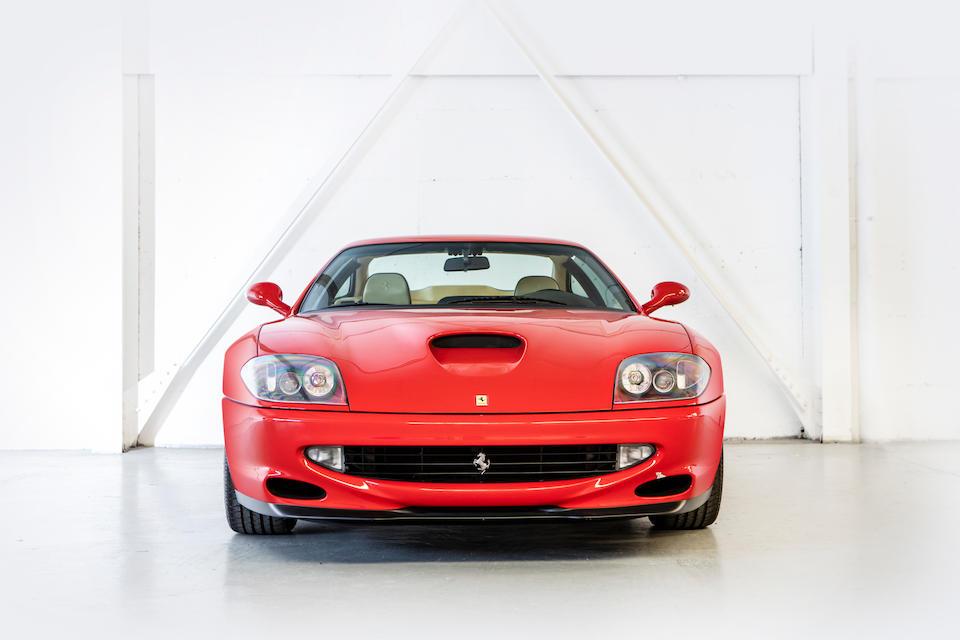 1998 Ferrari  550 Maranello Coupé  Chassis no. ZFFZR49B000114315