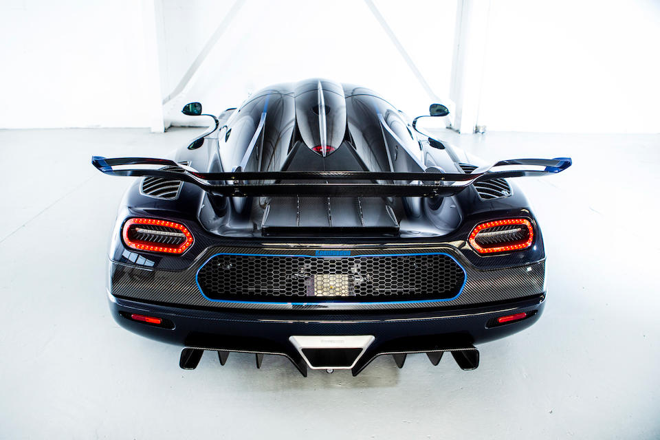 2015  Koenigsegg  One:1   Chassis no. YT9LK1A38EA007111