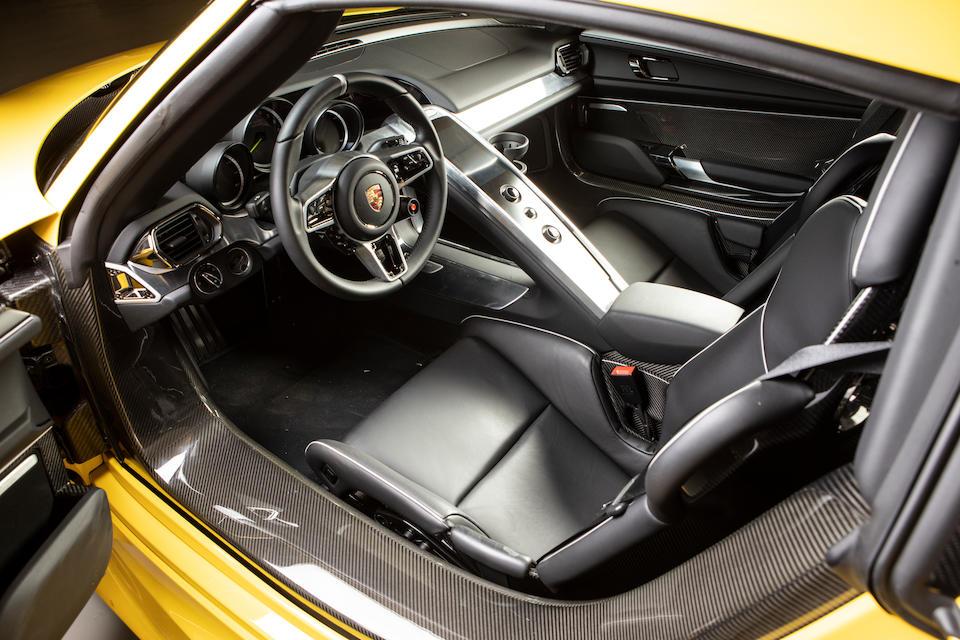 2015 Porsche  918 Spyder  Chassis no. WP0ZZZ91ZFS800215