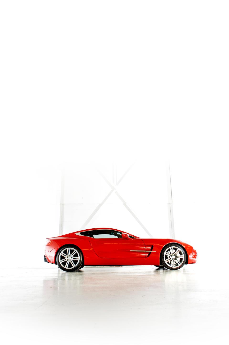 2011 Aston Martin  One-77 Coupé  Chassis no. SCFGFXXX6BGS17735