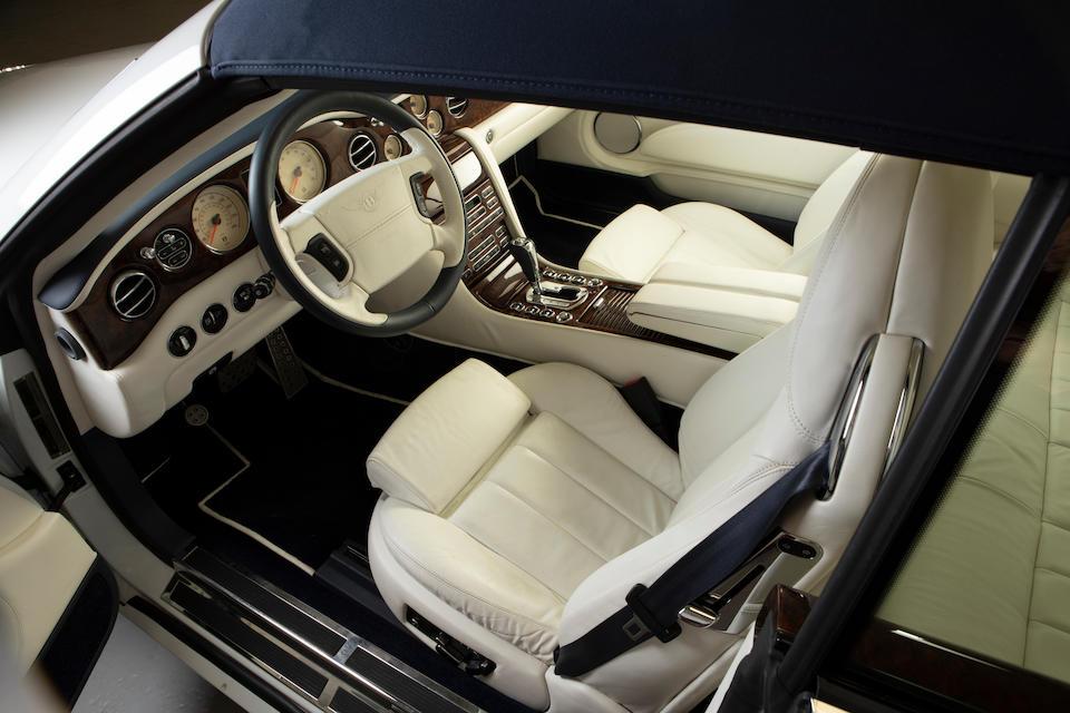2007 Bentley  Azure Convertible  Chassis no. SCBDC47L37CX12482