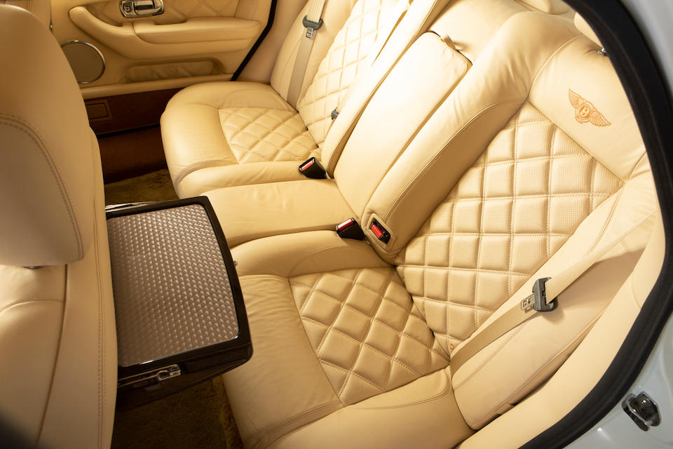 2003  Bentley  Arnage T   Chassis no. SCBLF34F64CX09860