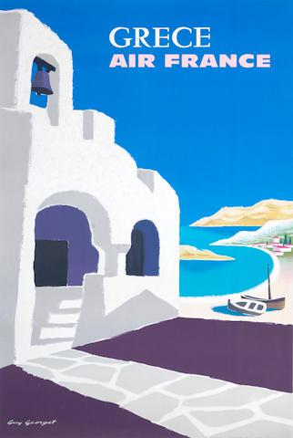 GUY GEORGET AIR FRANCE, GRECE