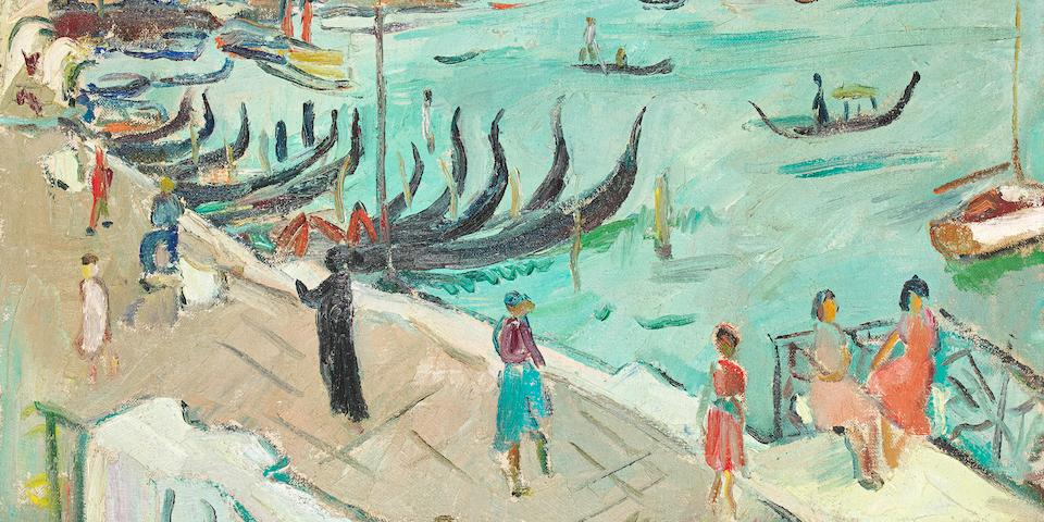 Irma Stern (South African, 1894-1966) Grand Canal, Venice