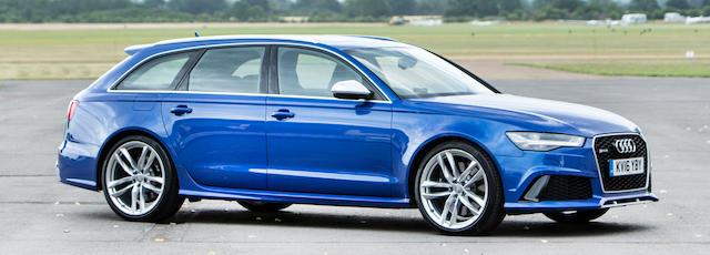2016 Audi  RS6 TFSI V8 Quattro Avant   Chassis no. WUAZZZ4G7GN904422 Engine no. CWUB007787