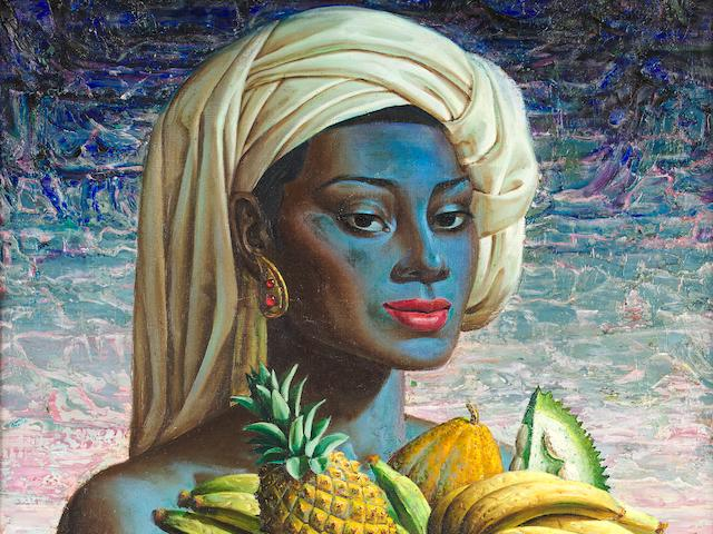 Vladimir Griegorovich Tretchikoff (South African, 1913-2006) Fruits of Bali