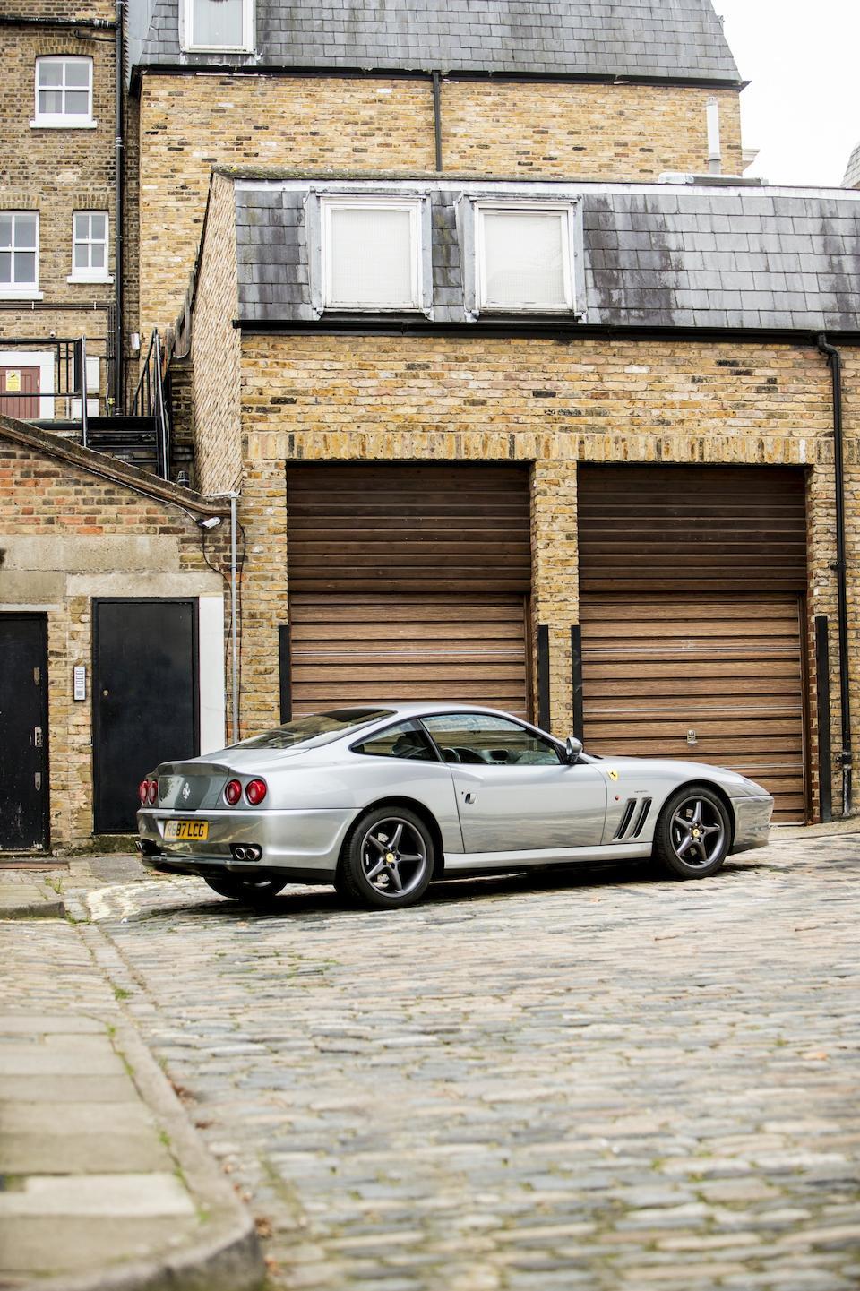 1998 Ferrari 550 Maranello Coupé  Chassis no. ZFFZR49B000111707