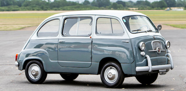 1960 Fiat Multipla 750  Chassis no. 100D108 114130