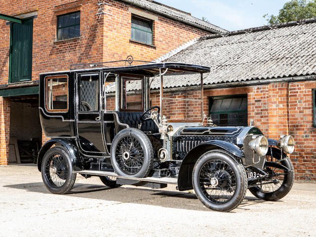 The ex-Ivor Read,1908 Napier 45hp Type 23 Six-Cylinder Open Drive Limousine  Chassis no. 4160