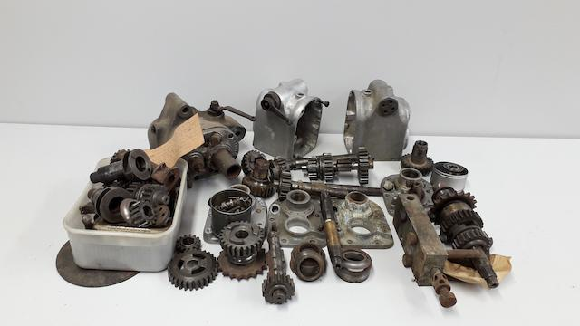 A selection of Vintage Sturmey Archer gearbox parts  ((Qty))