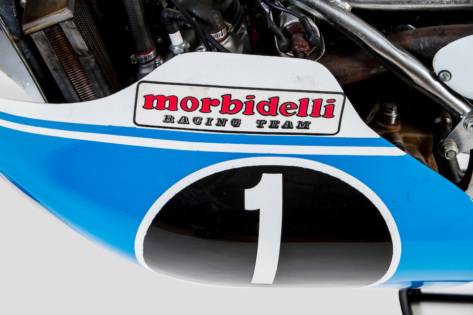 The ex-Angel Nieto, 1973 Morbidelli 125cc Grand Prix Racing Motorcycle Frame no. 504 Engine no. 405