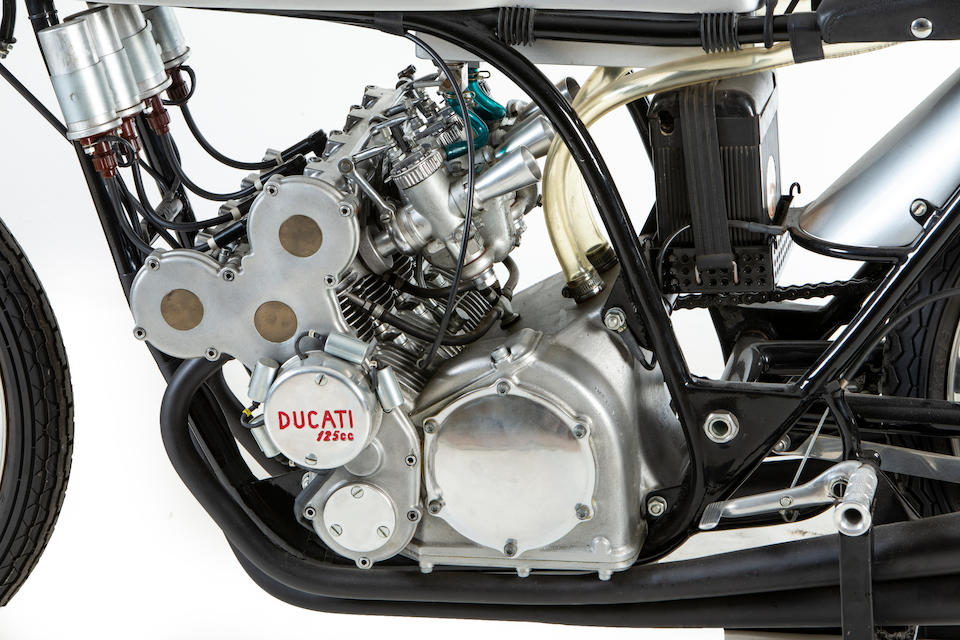 1965 Ducati 125cc Four-cylinder Grand Prix Racing Motorcycle Frame no. 1400.1.601 Engine no. DM125/MS2
