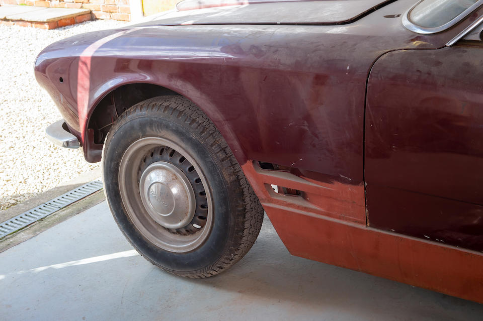 1963 Maserati Sebring Coupé Project  Chassis no. AM101.0247