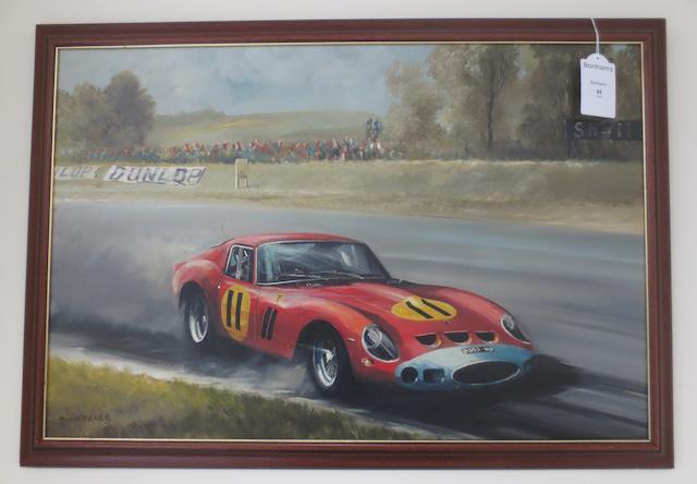"""Dion Pears, """"Ferrari 250 GTO"""","""