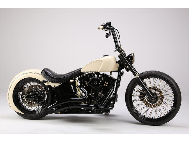 Signed by His Holiness, Pope Francis, and donated to the Pontifical Mission Societies, Sold for Charity,c.2016 Harley-Davidson 1,570cc Custom Cycle 'White Unique' Frame no. WEGTPCW 16Z0037 Engine no. KBMC634113