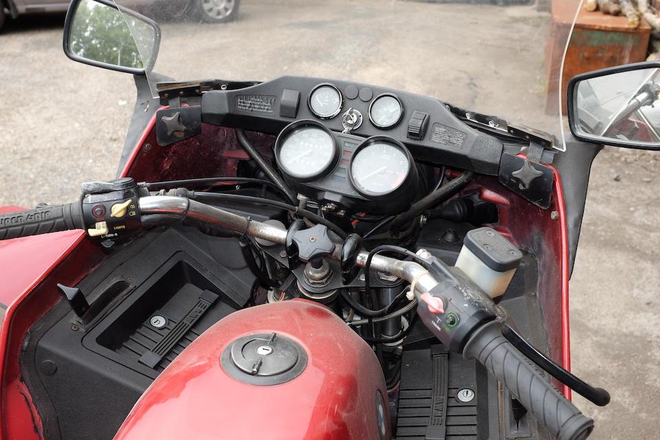 1982 BMW R80RT 797cc and Steib TR500 single seat sidecar  Frame no. 6420450 Engine no. 6420450