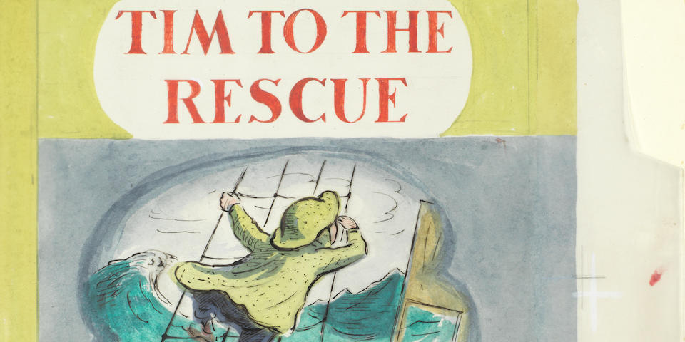 """ARDIZZONE (EDWARD) The complete original artwork for """"Tim to the Rescue"""", [c.1949]"""