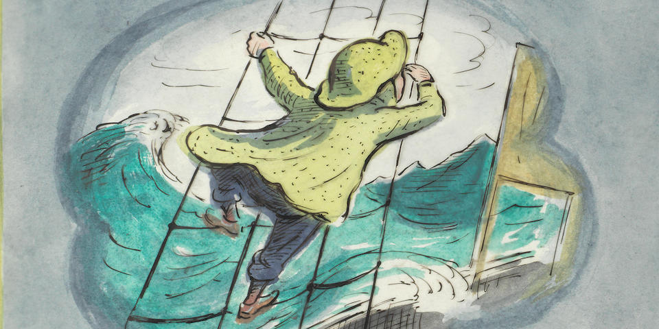 The Original Artwork to 'Tim to the Rescue' narrated by Stephen Fry