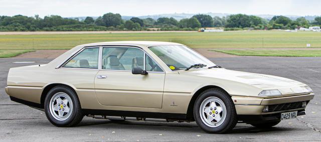 1986 Ferrari 412i Coupé   Chassis no. ZFFYD24C000062799