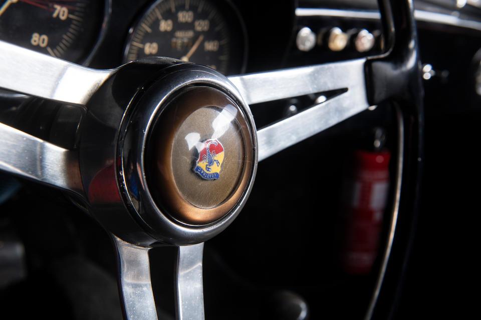 Ex-Ernesto Prinoth,1959 FIAT-Abarth 750 Record Monza Coupé   Chassis no. 577 535