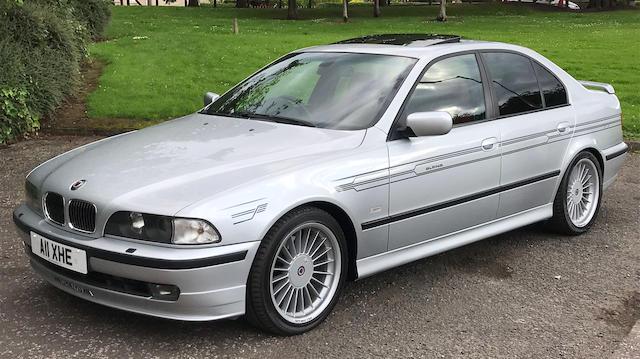 2000 BMW Alpina B10 4.6-Litre V8 Saloon   Chassis no. WAPBA46L19HF40702