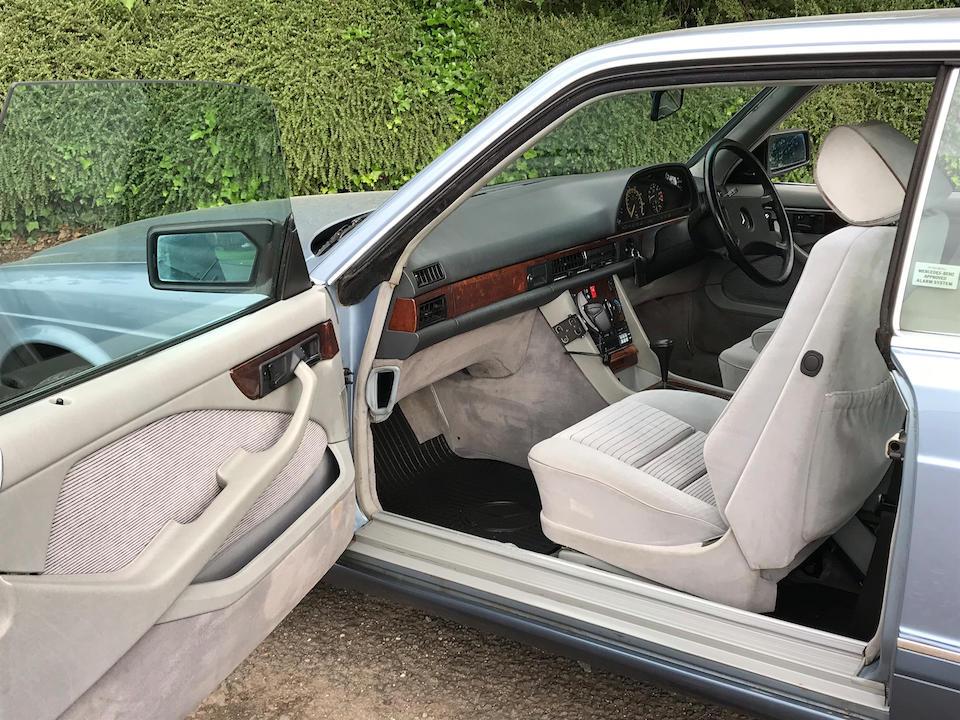 1989 Mercedes-Benz 500 Sec Automatic   Chassis no. WDB126044A460703
