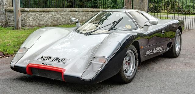 1972 U.V.A.McLaren Replica M6 GT  Chassis no. UVA886003