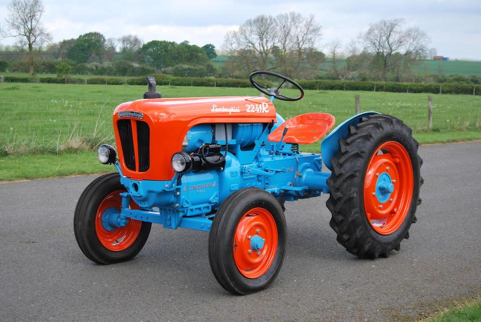 1960 Lamborghini DL20 2241R Tractor  Chassis no. DL20A3496A