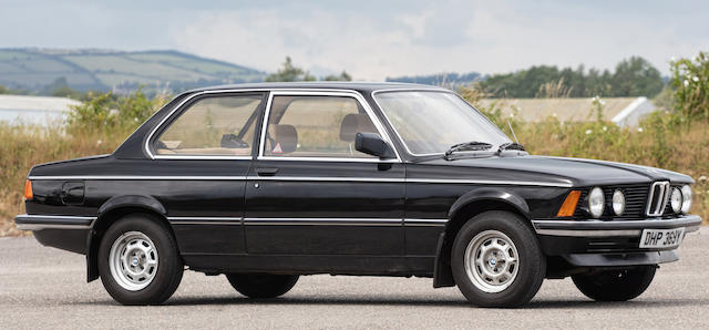 1982 BMW 316 Sports Saloon  Chassis no. WBAAG1203D7970969