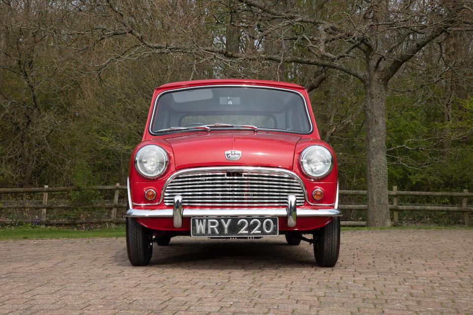1959 Austin Mini Saloon  Chassis no. A-A2S7/3608