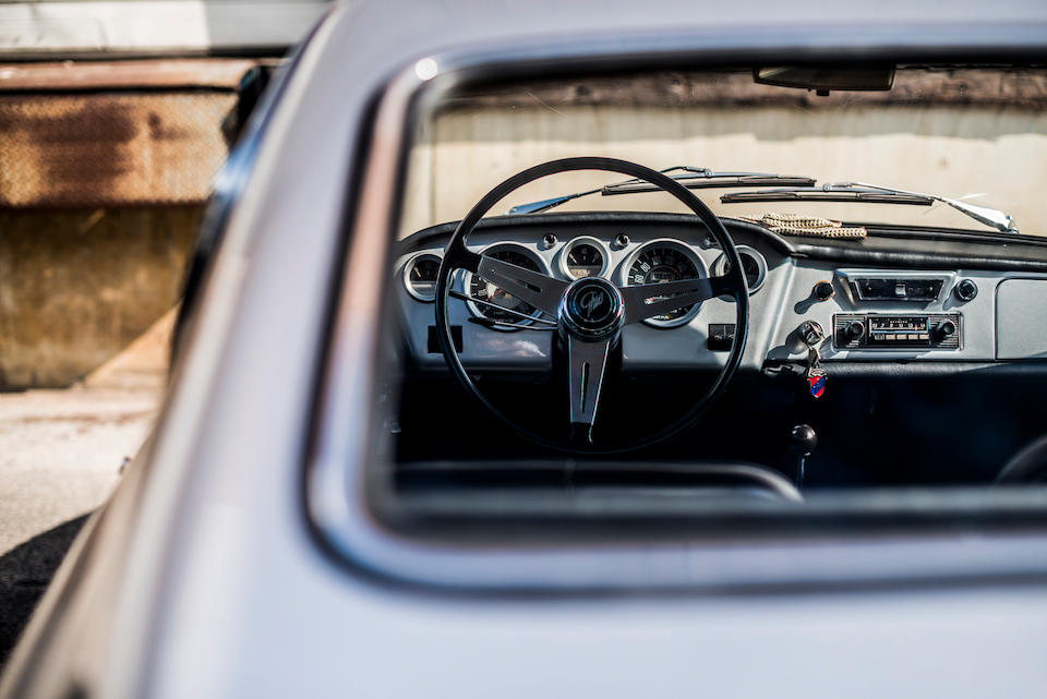 1964 FIAT  Ghia 1500 GT Coupé  Chassis no. 116.0394674