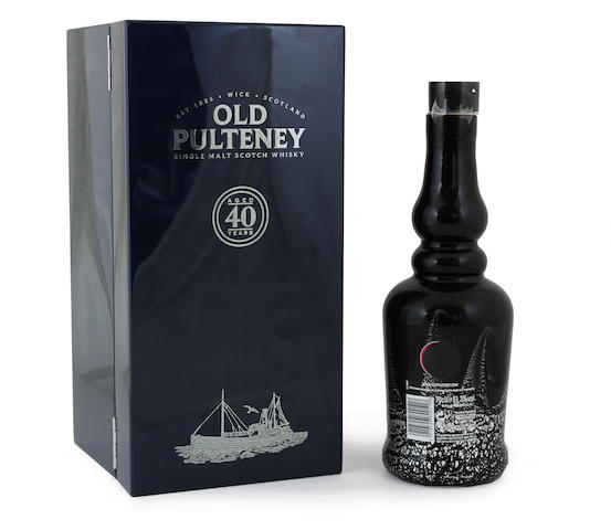 Old Pulteney-40 year old