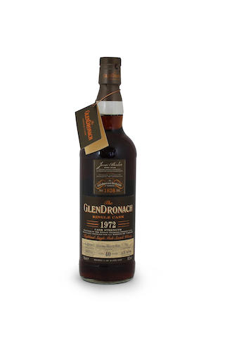 Glendronach-40 year old-1972