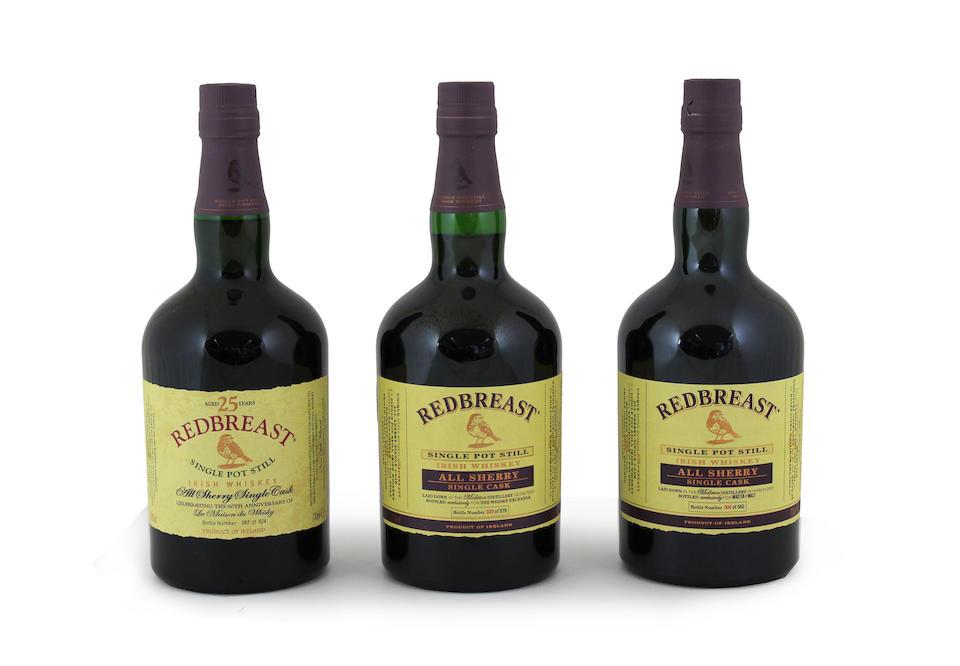 Redbreast-25 year old-1991 (1)  Redbreast-1999 (1)  Redbreast-2001 (1)