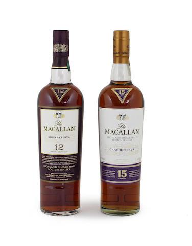 The Macallan Gran Reserva-15 year old (1)  The Macallan Gran Reserva-12 year old (1)